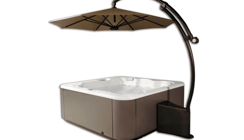 LED-Sonnenschirm